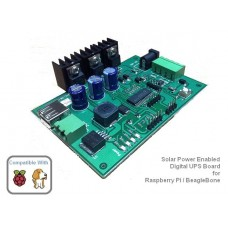 5Volt 2.5Amp Digital UPS Board (Solar Panel Connectable)