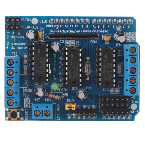 Motor Driver for Arduino