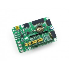 DVK512 - Raspberry Pi Expansion/Evaluation Board, features various interfaces