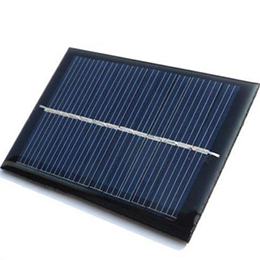 Solar Panel 6V 100mA - Small Solar Cell for Hobby Projects - Battery Charging