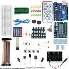 Arduino Uno R3 Keypad Kit With Basic Arduino Projects