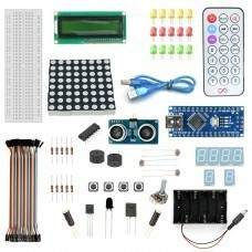 Nano V3 Distance Sensor Starter Kit With 19 Basic Arduino Projects