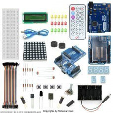 Leonardo R3 Xbee Shield Starter Kit with Basic Arduino Project