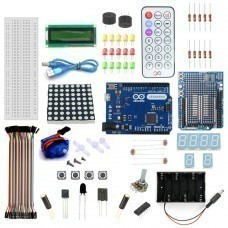 Leonardo R3-5v Servo Motor Starter Kit with Basic Arduino Project
