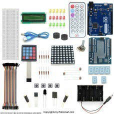 Leonardo-R3 Keypad Kit With Basic Arduino Projects