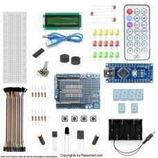 Nano V3 1602 Lcd Starter Kit With 17 Basic Arduino Projects