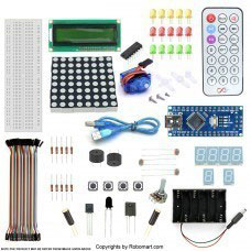 Nano V3 5v Servo Starter Kit with Basic Arduino Projects