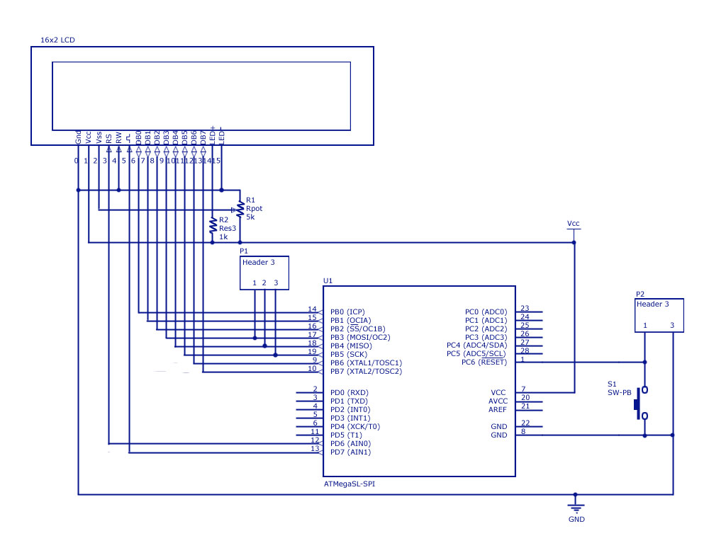 LCD interfacing with avr micro controller