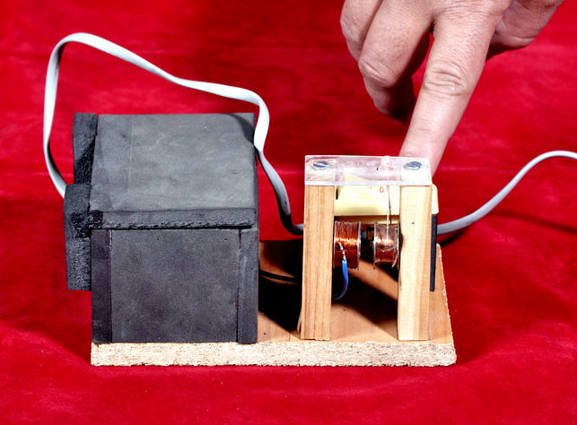 WIRELESS POWER/ TRANSFORMER (HAND MADE FINISH)