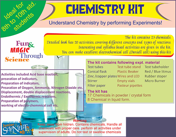 CHEMISTRY KIT (27 ACTIVITY)