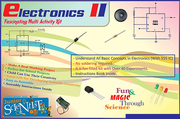 BASIC ELECTRONICS KIT - II