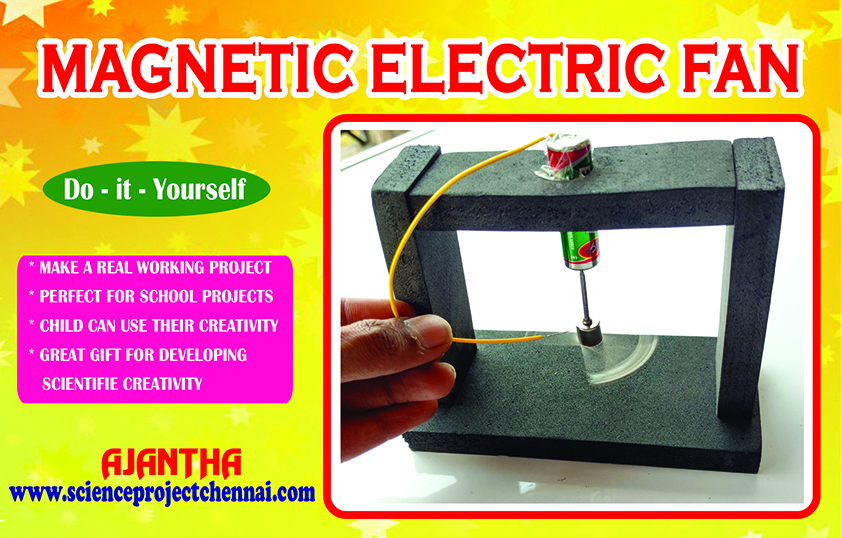 MAGNETIC ELECTRIC FAN Project Kit