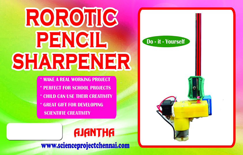 ROBOTIC PENCEL SHARPNER Project Kit