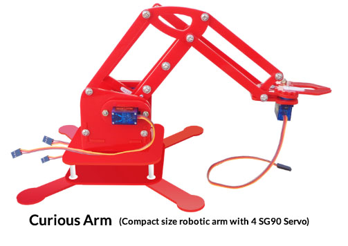 curious arm Project Kit