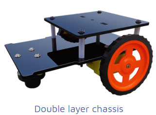 double layer chasis Project Kit