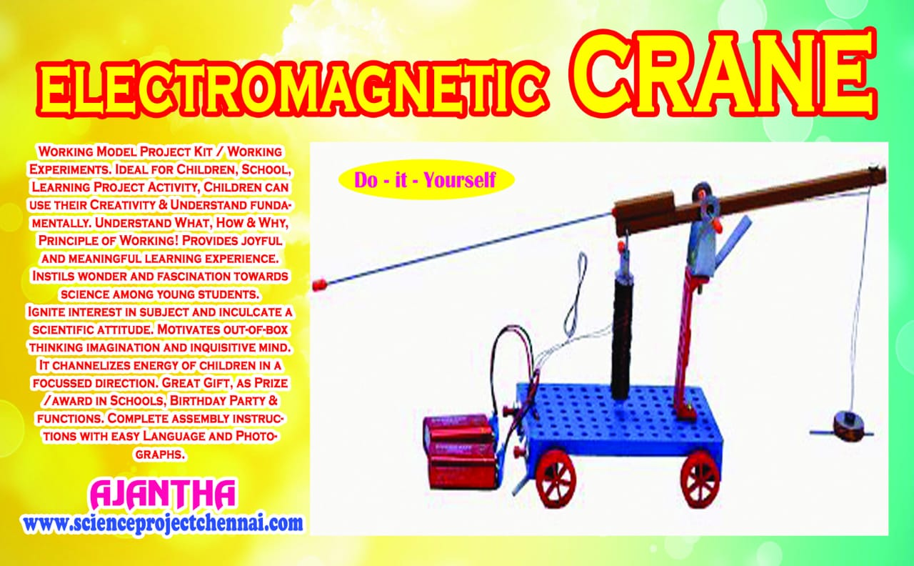 electromagnetic crane Project Kit