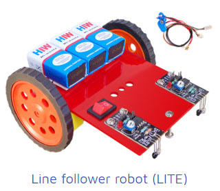 line follower robot Project Kit