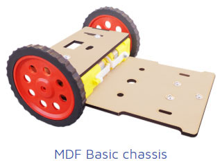 mdf basic chassis Project Kit