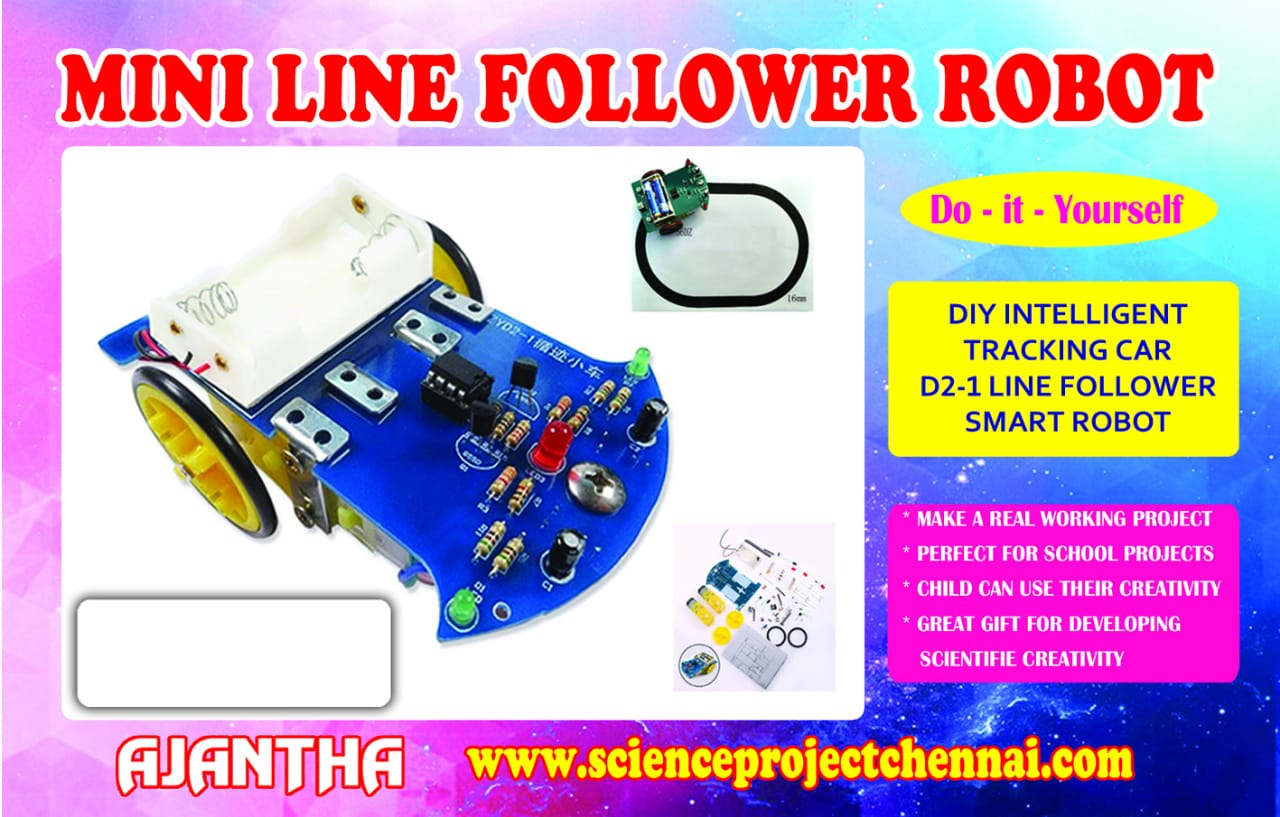 mini-line-follower-robot Project Kit