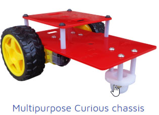 multipurpose curious chasis Project Kit