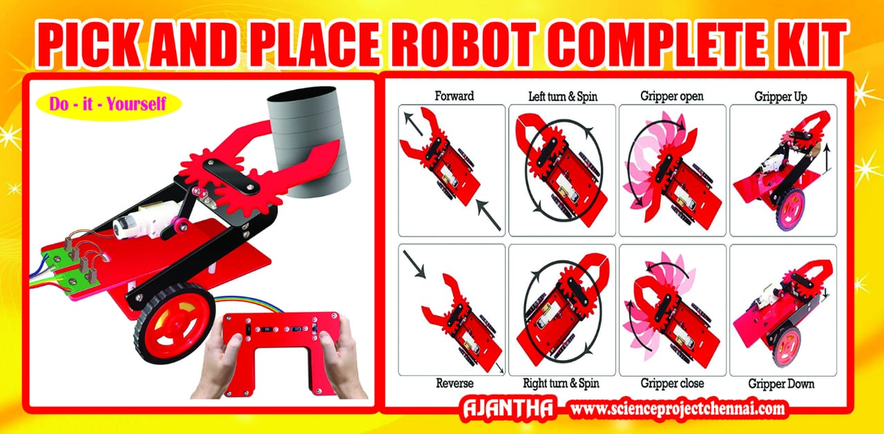 pick and place robot Project Kit
