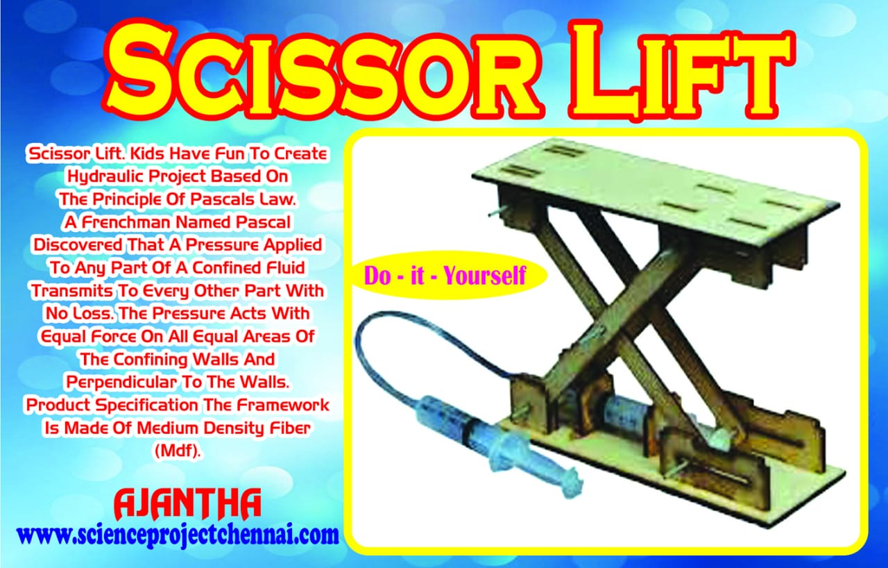scissor lift Project Kit