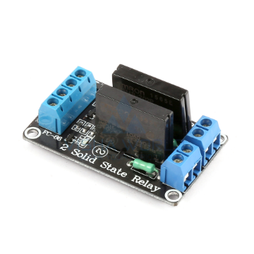 2 x DC 5V SSR High Level Triggering Module - 2A