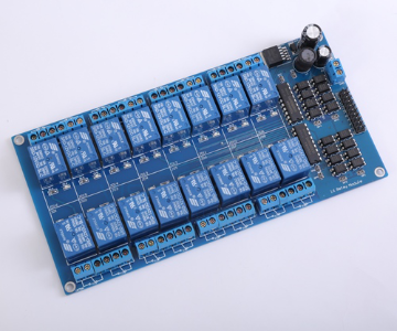 16 x DC 12V Opto Isolated Relay Module