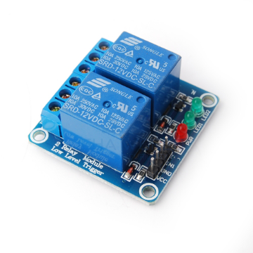 2 x DC 12V Opto Isolated Relay Module