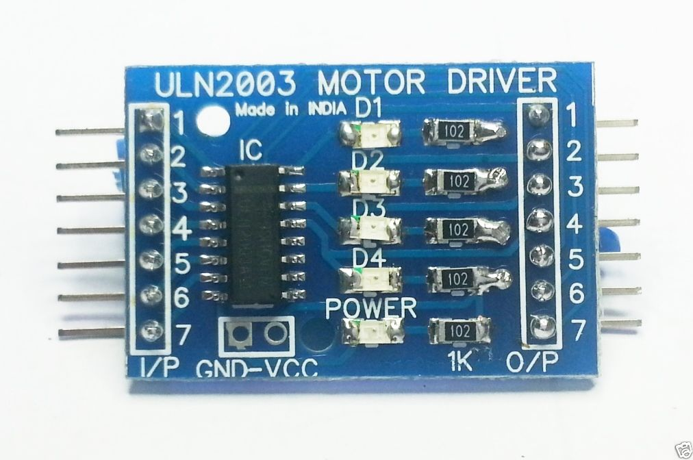 ULN2003 Stepper Motor Driver in chennai