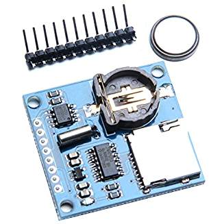 Data Logger Module for Arduino Data Logging Recorder Shield - With SD CARD SLOT and Battery