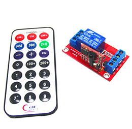 5V One Channel 1CH IR Infrared Wireless Remote Control Switch Relay Module